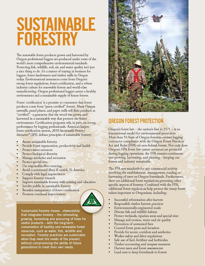 Oregon Professional Logger Protection